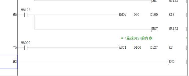 三菱plcfx2n与志美称重仪表cb920x通讯问题