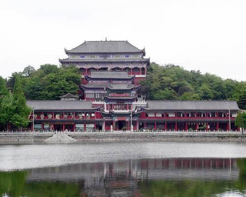 已划定的核心风景区由九宫山镇