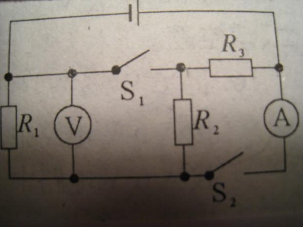 如图所示电路:电源两端电压不变,R1=30 .当开关S1,S2都断开或都闭合所形成的两个电路状态中,电压表示数之比为3:8,R2消耗的最大功率和最小功率之比为4:1;则电阻R2=  ,R3=  解题要有必要计算过程和文字说明,只给出答案不得分(R2:40;R3:10) 匿名网友2015-01-071个回答 详细问题描述及疑问:期待您的答案,谢谢你帮我,祝你快乐,愿你事事如意 ! 本页链接: