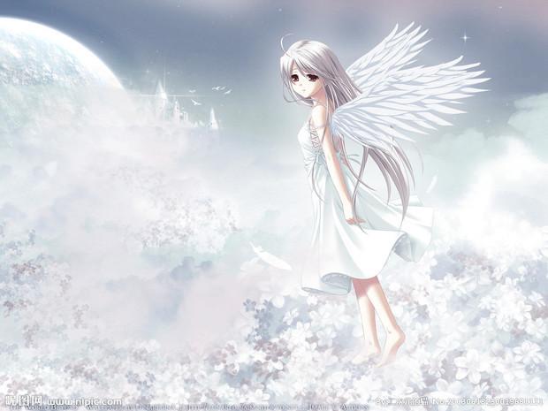 天使动漫女孩图