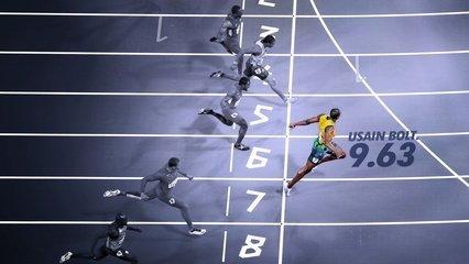 一百米短跑世界纪录是多少秒_360问答
