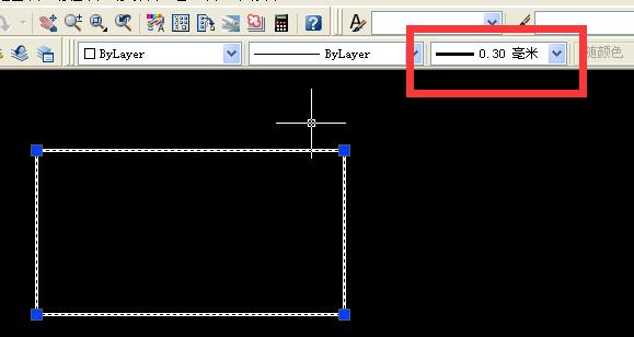 看CAD中的线的宽度_360问答cad里面输入法有图片