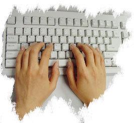 正确打字手放键盘软件_打字指法图葫芦丝降b指法图正确打字手放