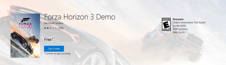 《极限竞速:地平线3》试玩版解锁