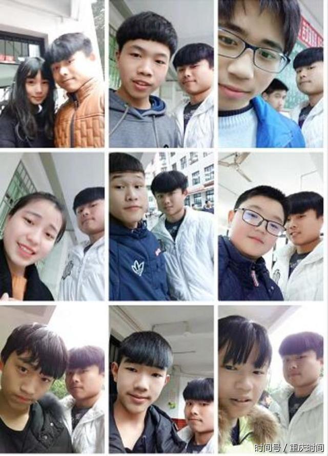 重庆内向学生力求突破 与999名校友合影练胆量