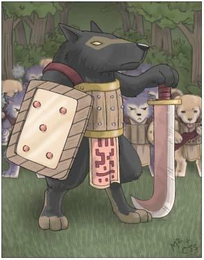 犬妖首领卡片
