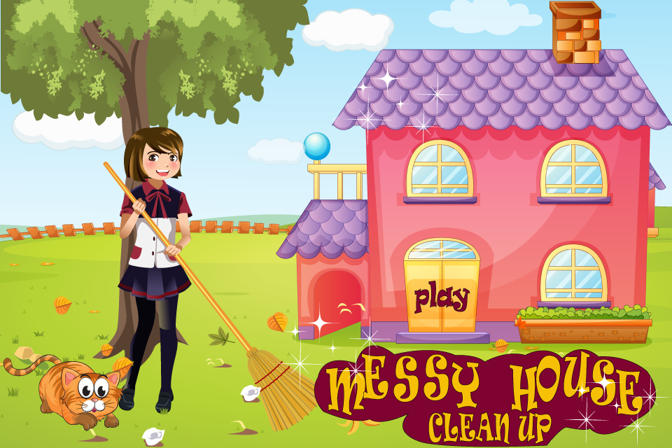 游戏 休闲益智 >凌乱的房子清理  女孩嗨!我需要一些帮助.