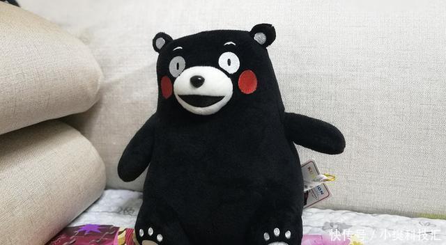 网络的熊也很可爱,风靡表情眼神--熊本熊公黑色会动的表情图图片