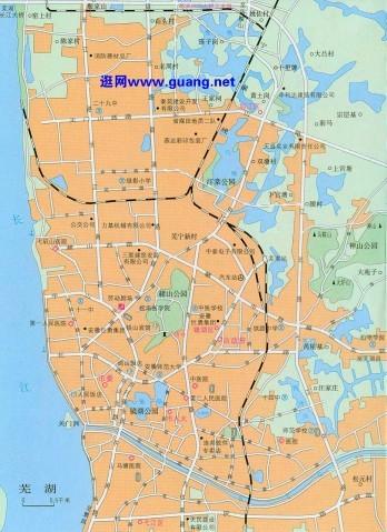 (图)芜湖市地图