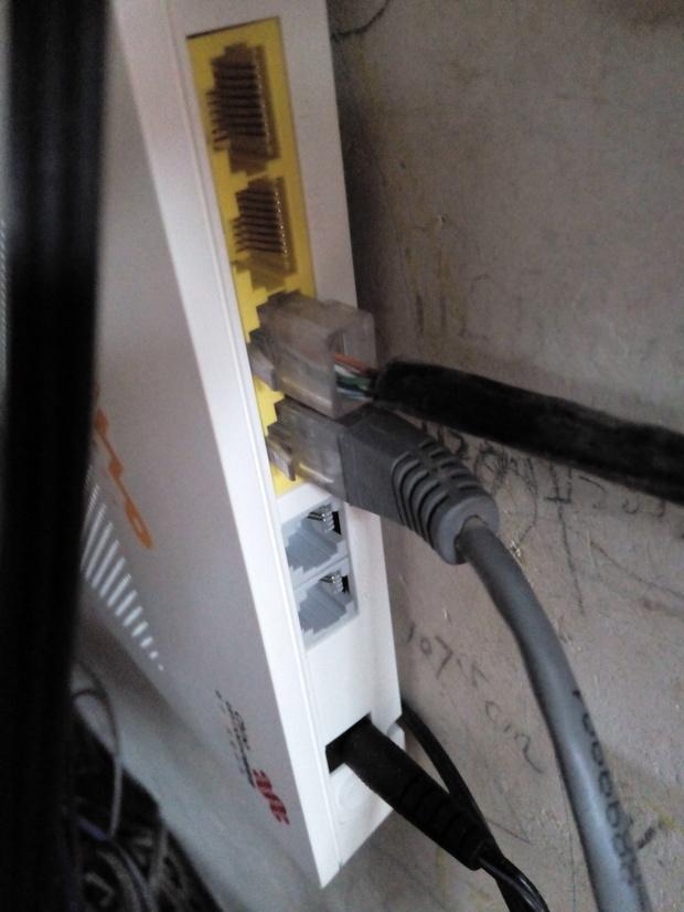 联通刚换的光纤,电脑能上网