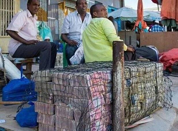 这个国家穷得只剩下钱,家家户户以卖钱为生! - 颜神闲人 - 颜神闲人