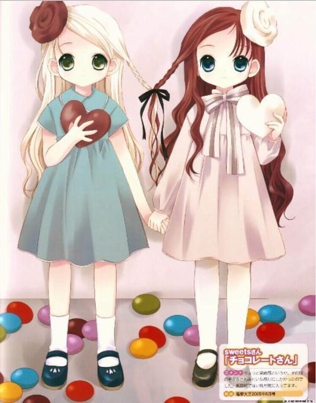 我是双胞胎妹妹,我想找一个好看的双胞胎动漫图片
