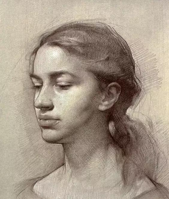 俄罗斯素描画家怎么处理素描关系 ART 第8张