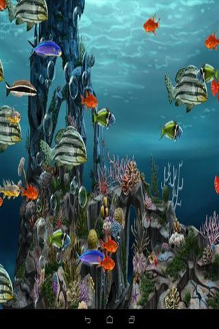 壁纸 海底 海底世界 海洋馆 水族馆 游戏截图 320_480 竖版 竖屏 手机