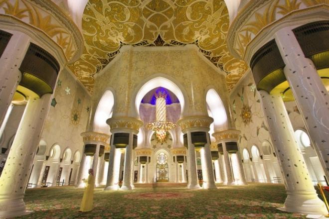 世界上最奢华的清真寺,绝对超乎你想象!(2)