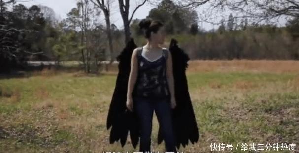 女子梦想可以飞行,花100万在身体植入翅膀,结果飞起来了吗?
