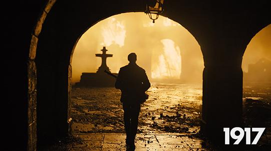 """冲奥热门《1917》即将上映  """"一镜到底""""直播战争"""