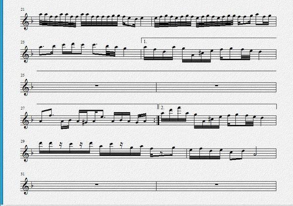 跪求 紫色激情 的小提琴 乐谱 ,快 360问答