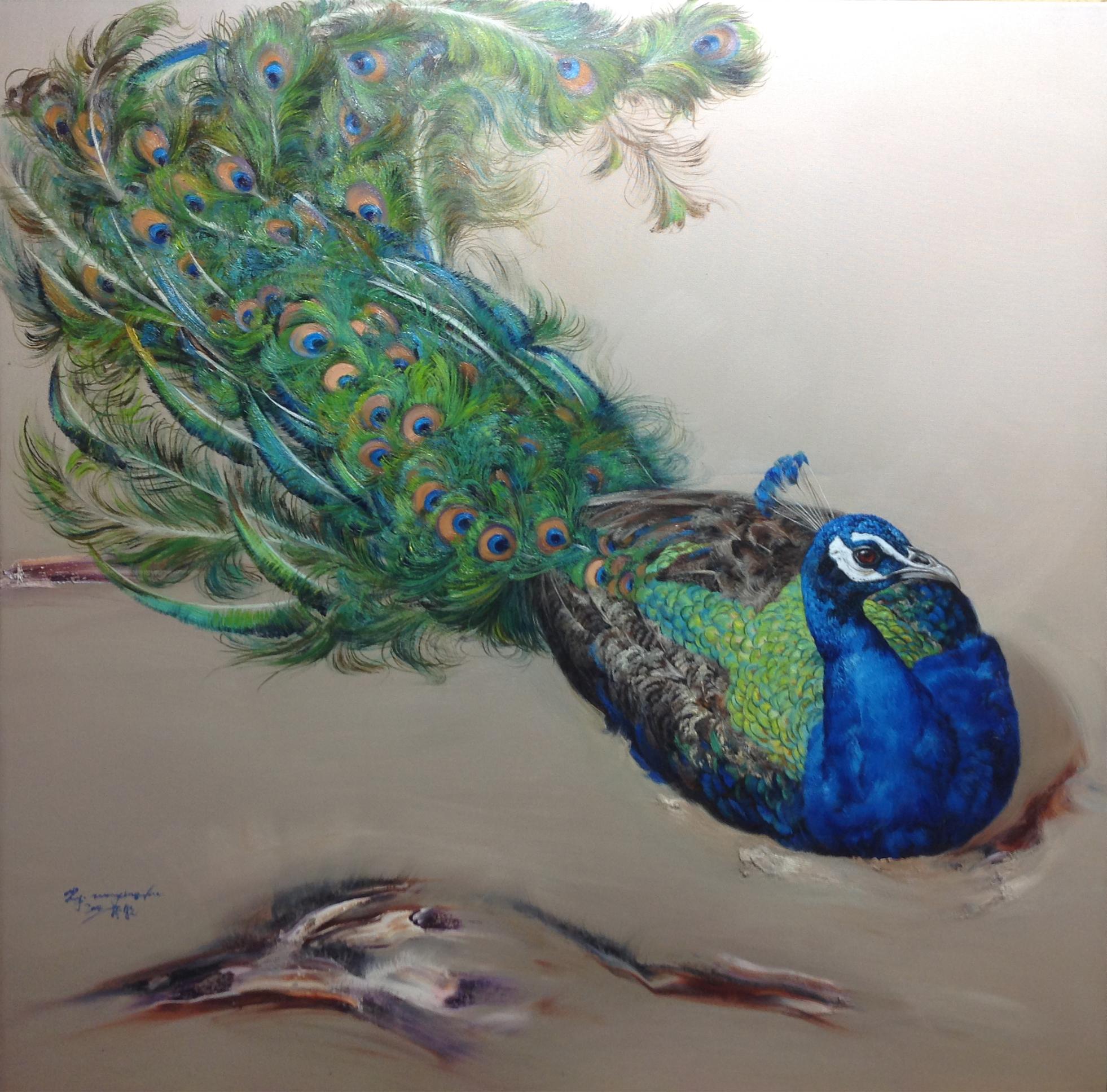 是画家以动物绘画艺术创作里程碑