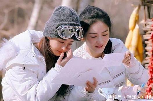 赵丽颖参加的综艺节目,《跑男》垫底,最后一部