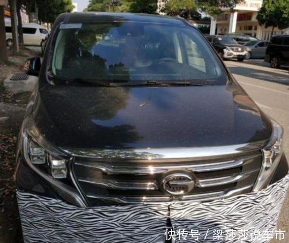 全新传祺GM8轻伪实车曝光,换装8AT,网友:减肥了?