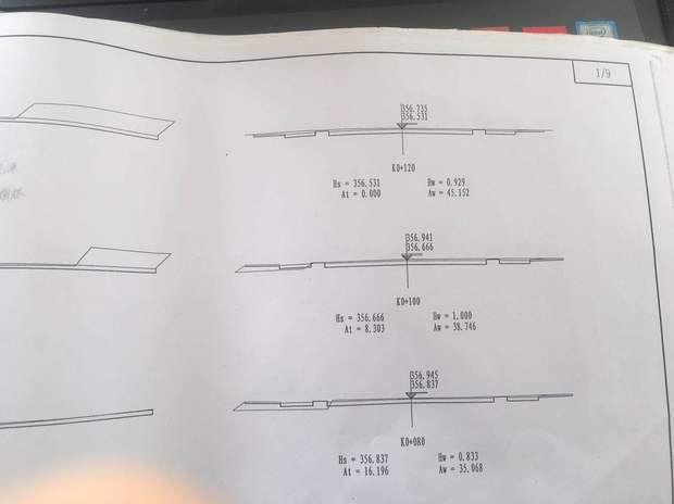计算,CAD断面方法图画,v断面求教土方_36安装如何位32cad2008图片