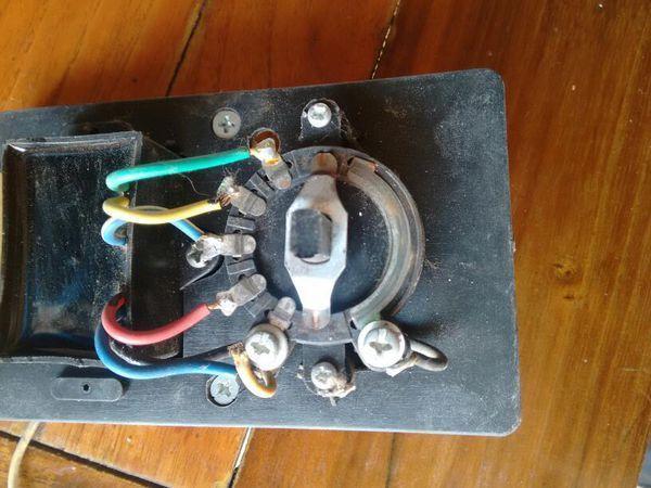 老式吊扇开关_吊扇通用美的老式吊扇调速器控制器顶扇调速