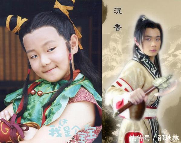 30岁的曹骏有种霍建华王凯的即视感,而关晓彤儿时搭档