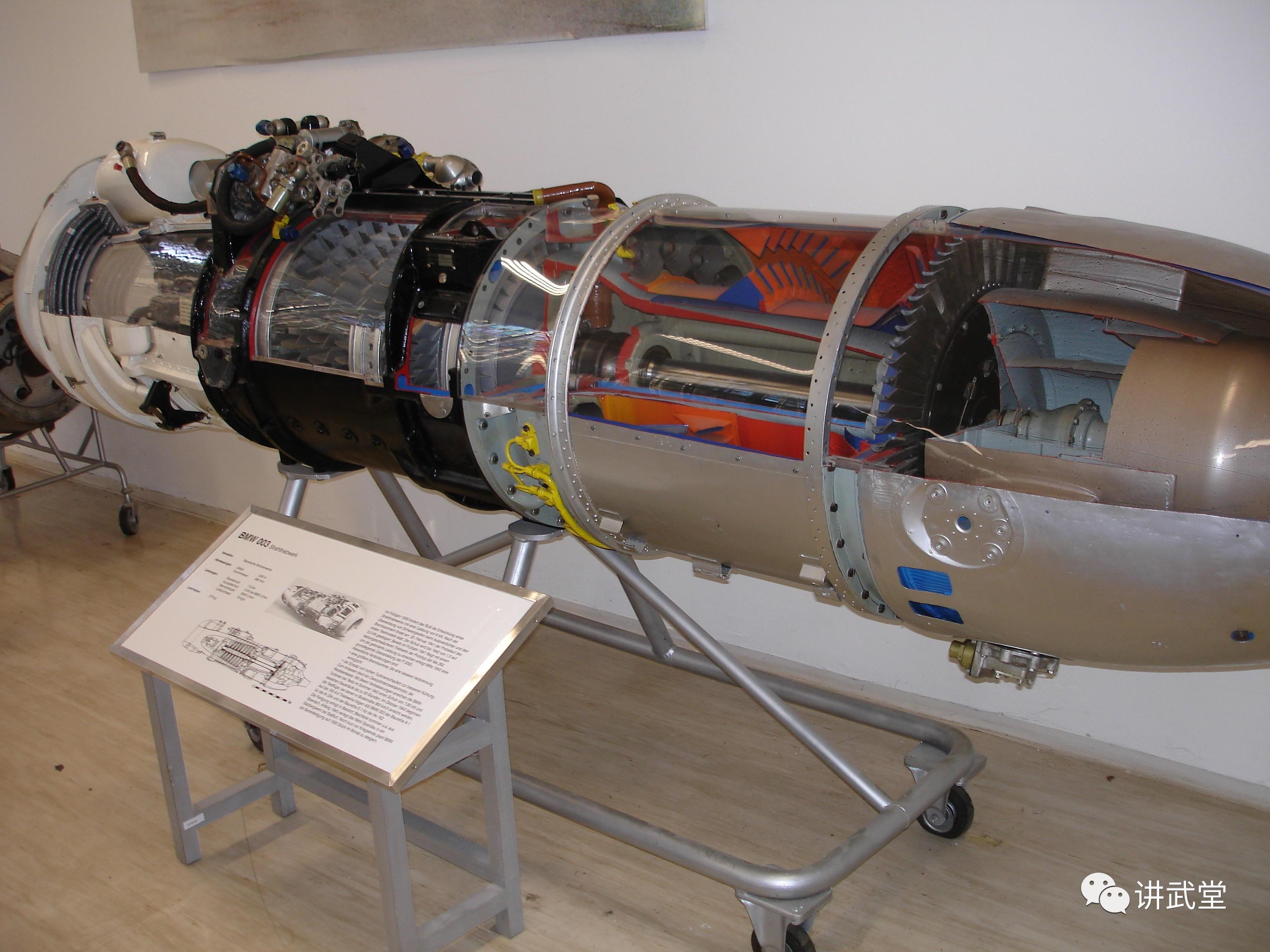 003喷气发动机,纳粹德国研制于1940年
