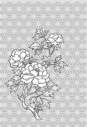 求助:简单的牡丹花怎么画