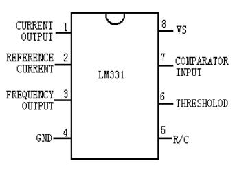 lm331 器件管脚图