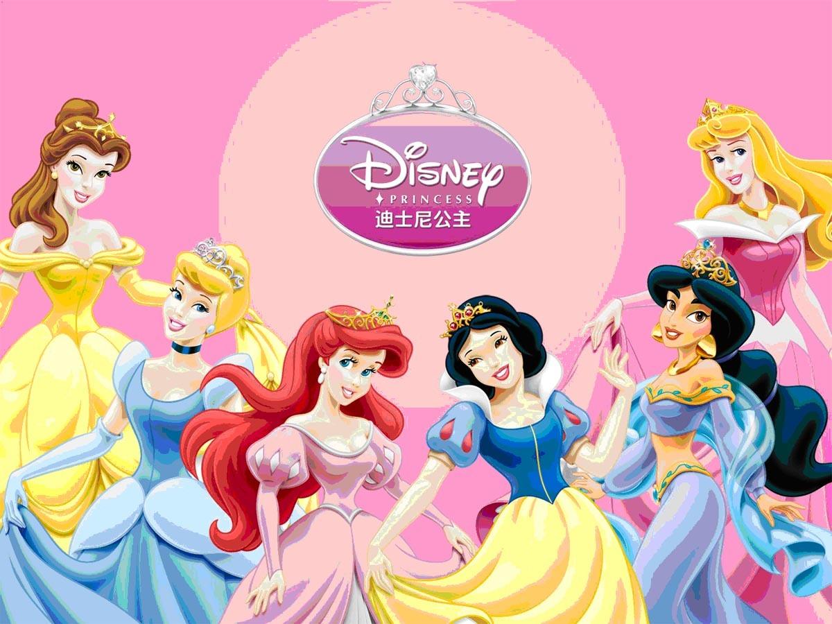 迪士尼的公主们