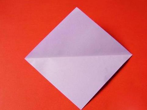 立体天鹅的折法图解步骤二