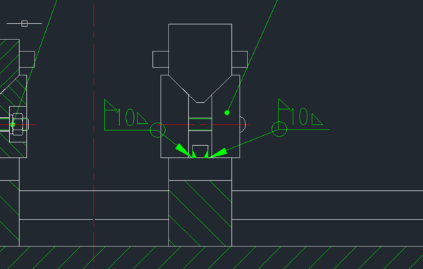 CAD里这个符号意思_360v符号版云百度安装cad破解包图片