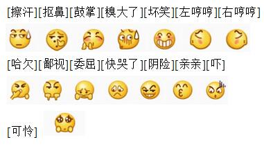 微信回复时用脸部表情图标表情是_360问元意思包次斗qq图二图片