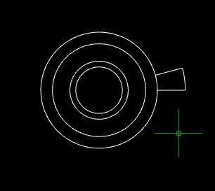 CAD快速画一圈标准实际_360v标准cad坐标小y比楼梯环形的图片