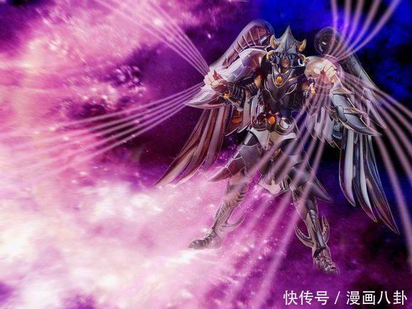 圣斗士:巨头三漫画中,也只有他超越撒加!夜莺冥界图片