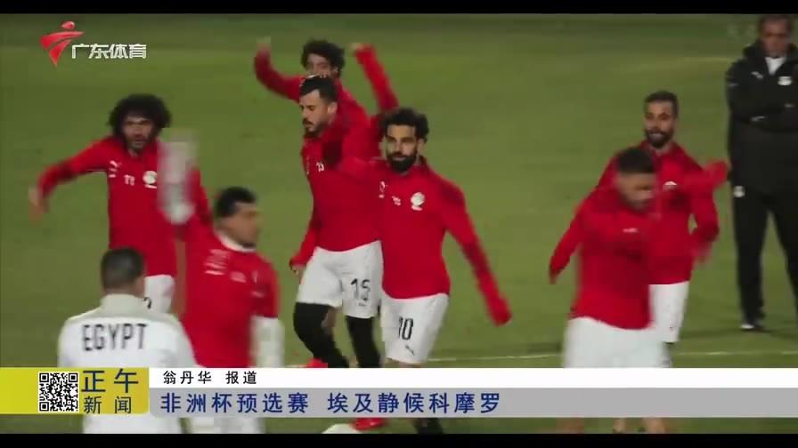 非洲杯预选赛 东道主埃及静候科摩罗