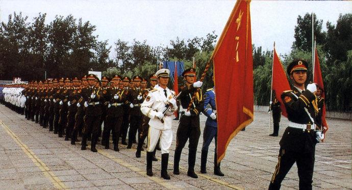 中国人民解放军陆海空三军仪仗队