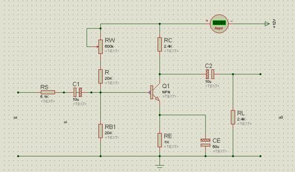 《晶体管共射极单管放大电路》的实验报告