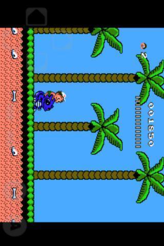 高桥名人冒险岛的第二代,横版动作游戏,二代增加了坐骑恐龙
