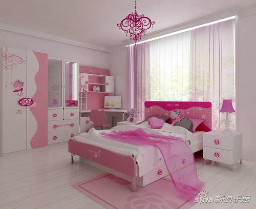 触漫素材图片女生房间