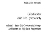 美国政府智能电网网络安全指南之战略、架构和高层需求 NISTIR 7628 Revison 1