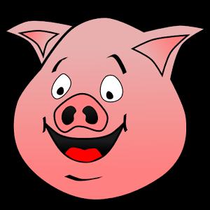 牛 猪 矢量图