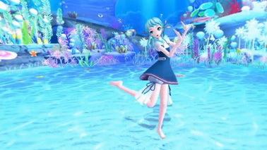 《初音未来》VR演唱会新视频曝光 在海底看软妹子