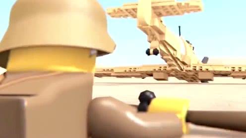 《乐高城市》城市战争终于爆发,小朋友们快坐战斗机去战斗吧!