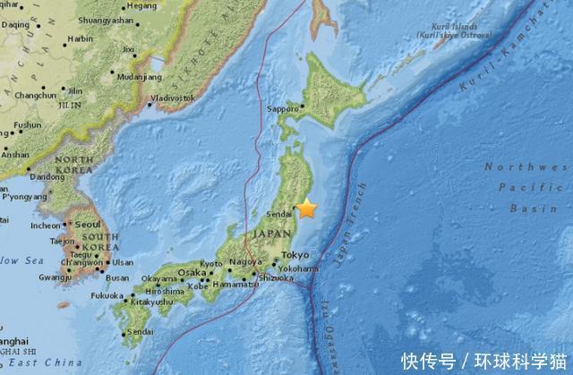 7.9米海啸!日本富士山97公里俯冲带,科学家:可