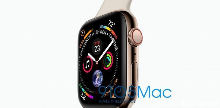 苹果AppleWatch4曝光表盘更新换代变化较大