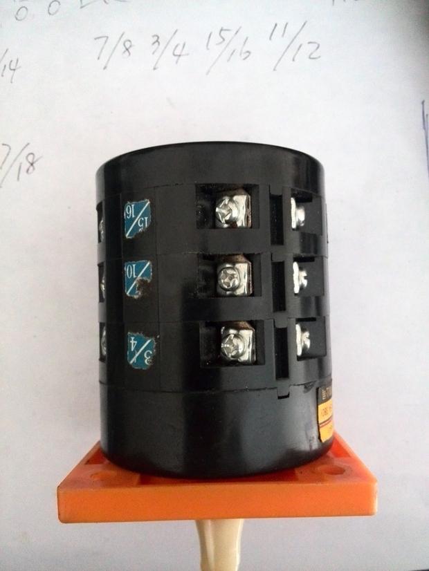 三相交流电动机用组合开关正泰lw6-3实现正反转求接线