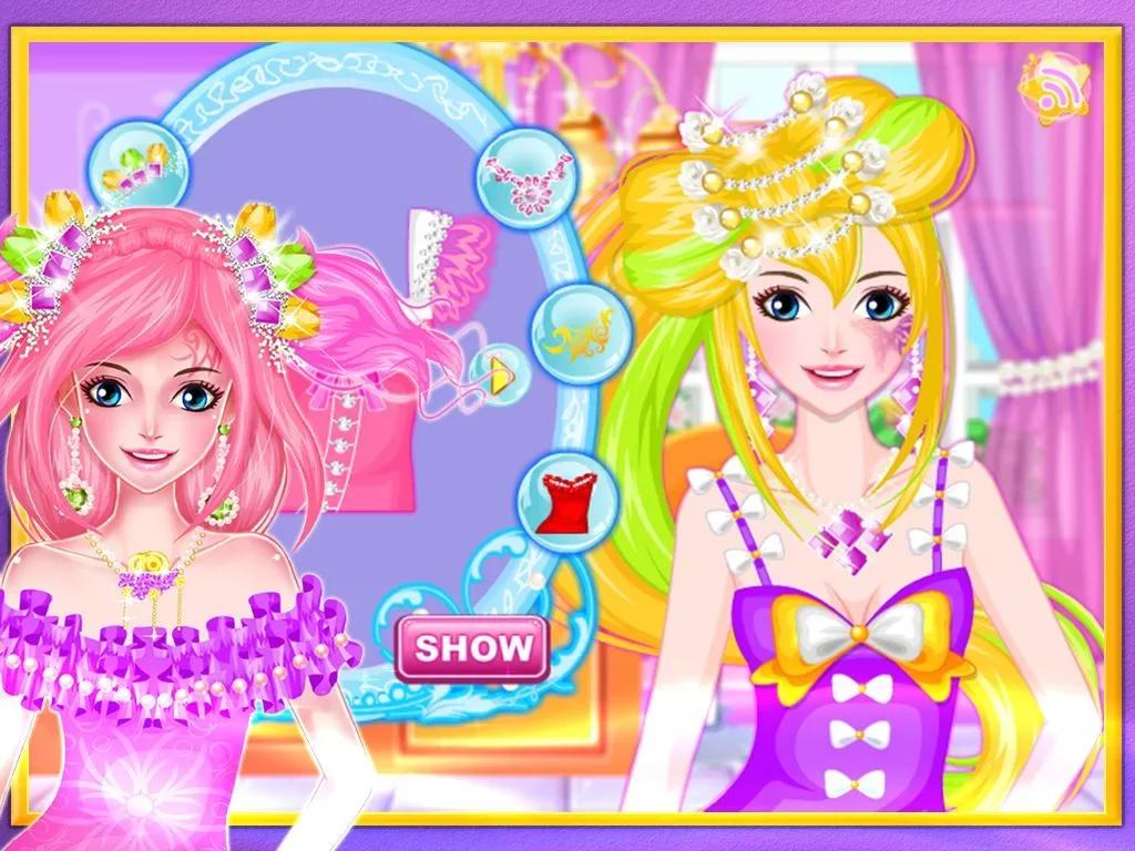 公主的时尚发型秀下载
